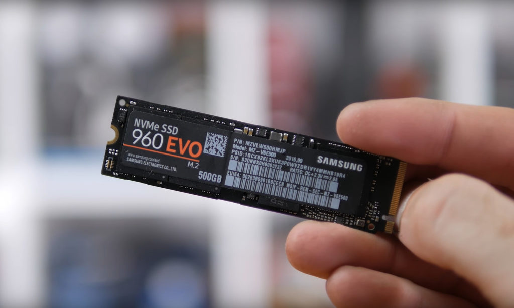 M 2 SSD comparison: Difference Samsung 960 / 860 Pro and EVO