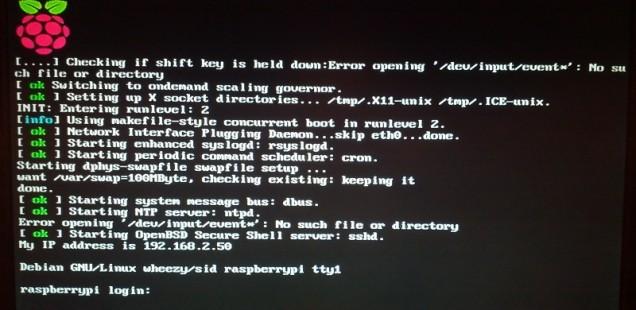 "Raspberry Pi - Raspbian-Update: ""Wheezy"" auf ""Jessie"" aktualisieren"