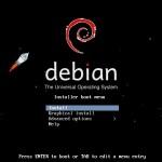 Linux (Debian) von USB-Stick installieren