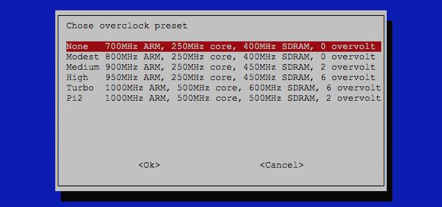 Spezielle Einstellung für den Raspberry Pi 2