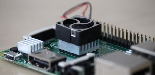 Raspberry Pi - SOC richtig kühlen (aktiv / passiv)