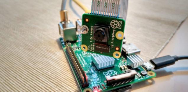 Raspberry Pi – Kameramodul als Überwachungskamera (Livestream)