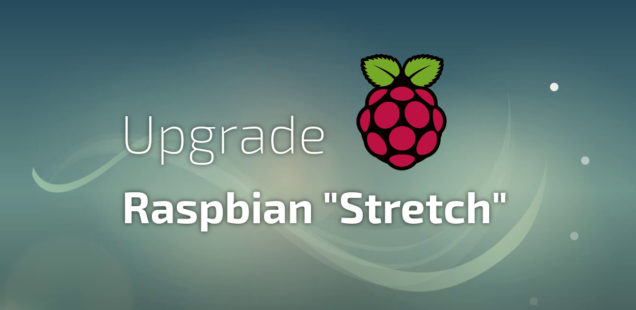 "Raspberry Pi - Raspbian-Update: ""Jessie"" auf ""Stretch"" aktualisieren"