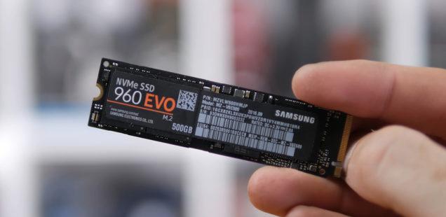 M.2 SSD-Vergleich: Unterschied Samsung 960 / 860 Pro und EVO
