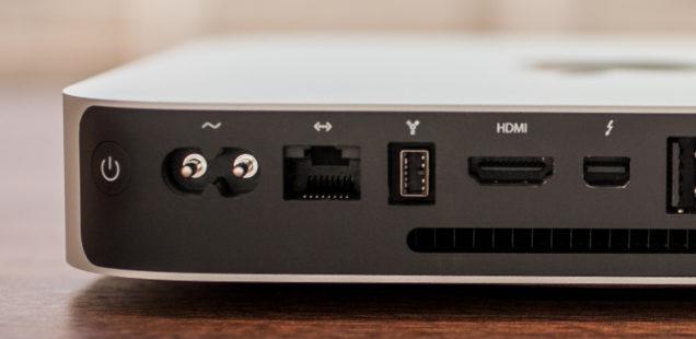 Mac Mini (2014-2017) aufrüsten: SSD einbauen